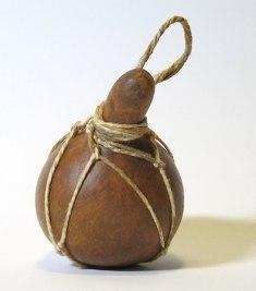 Hawaiian Museum: gourd bottle