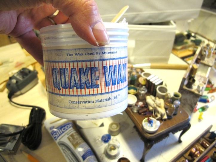 Mounting wax