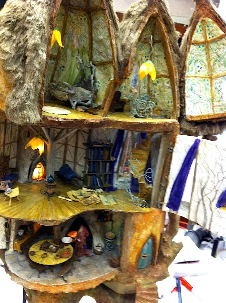 Penny Thomson's fantasy building was wonderful and full of fun details.