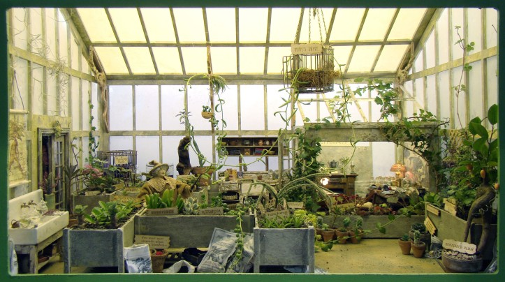 2013 Harry Potter Greenhouse