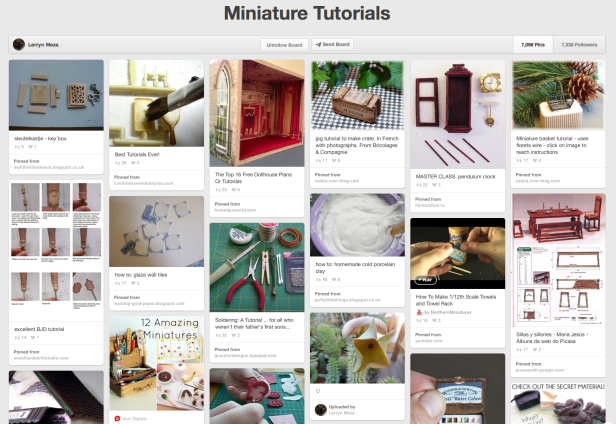 Check out these mini tutorials on Pinterest.