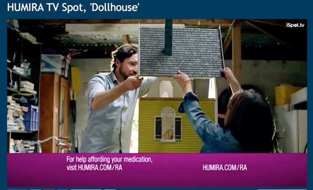 Humira dollhouse