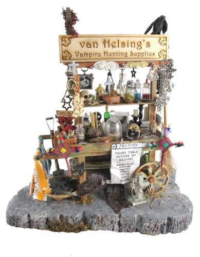 van Helsing's vampire hunting supplies