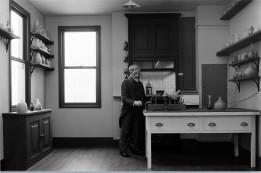 Sir William Crooks in his laboratory